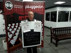 Community Promoter Michael at Darwen Market