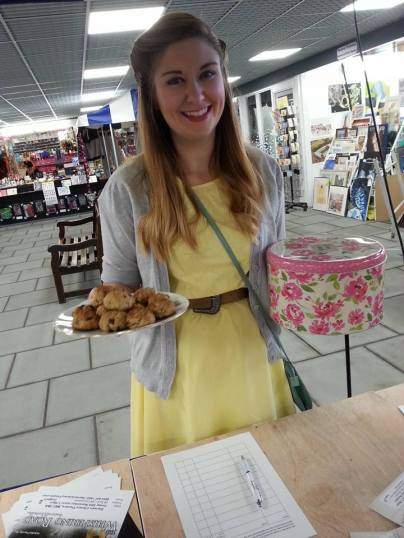 Stephie at Darwen Market